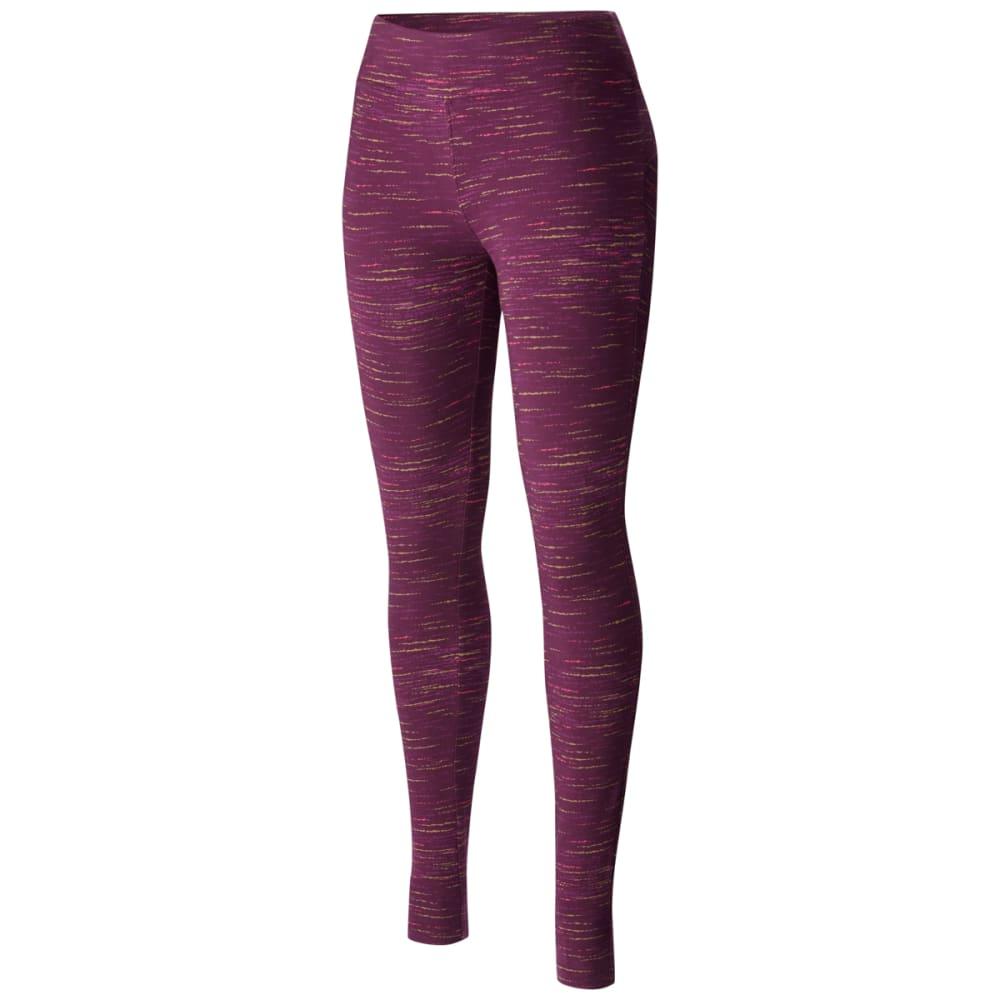 COLUMBIA Women's Anytime Casual Printed Leggings - 500 DUSTY PURPLE