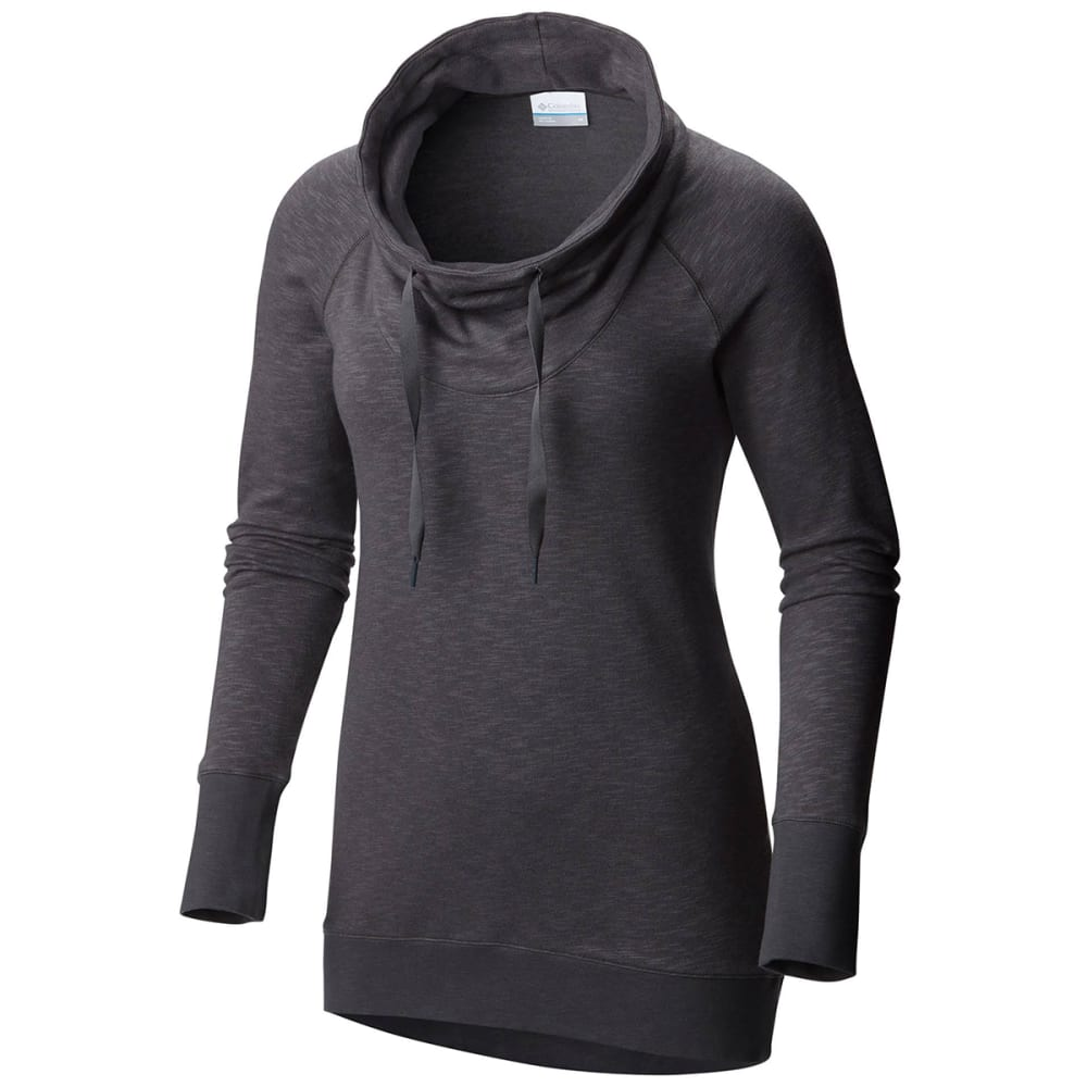 COLUMBIA Women's Down Time Pullover - -011 SHARK HEATHER
