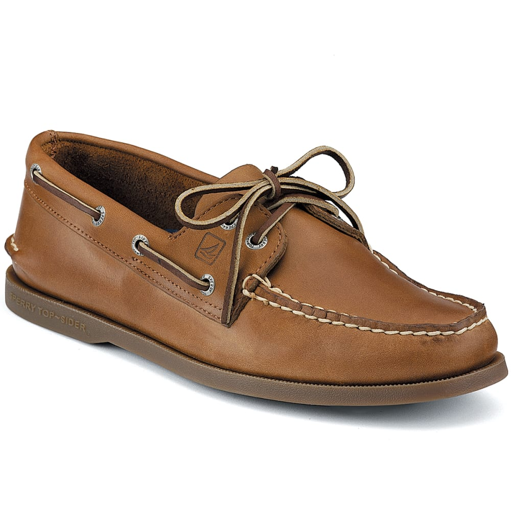 SPERRY Men's Authentic Original 2-Eye Boat Shoes, Wide - SAHARA