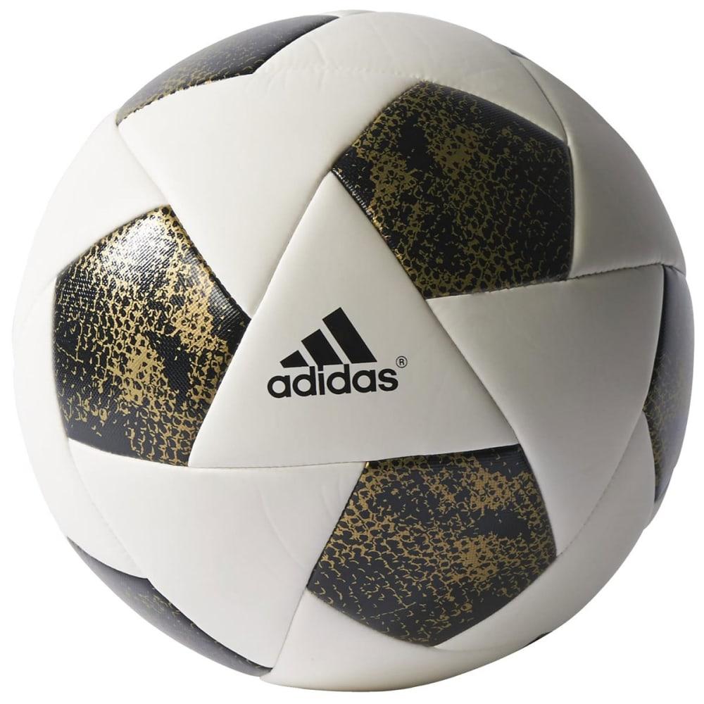 ADIDAS X Glider Soccer Ball - WHT/BLK/GOLD