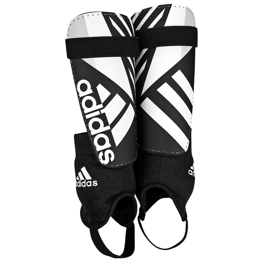 ADIDAS Adult F16 Ghost Club Shin Guards - BLACK/WHT