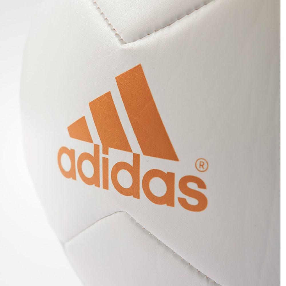 ADIDAS F16' X Glider II Soccer Ball - WHT/BLK/GOLD