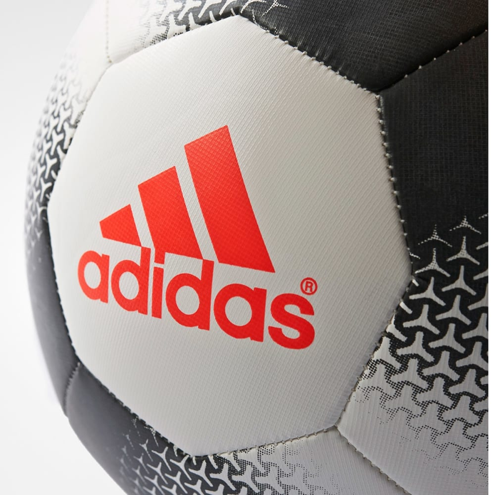 ADIDAS F16' Ace Glider Soccer Ball - WHT/BLK/RED