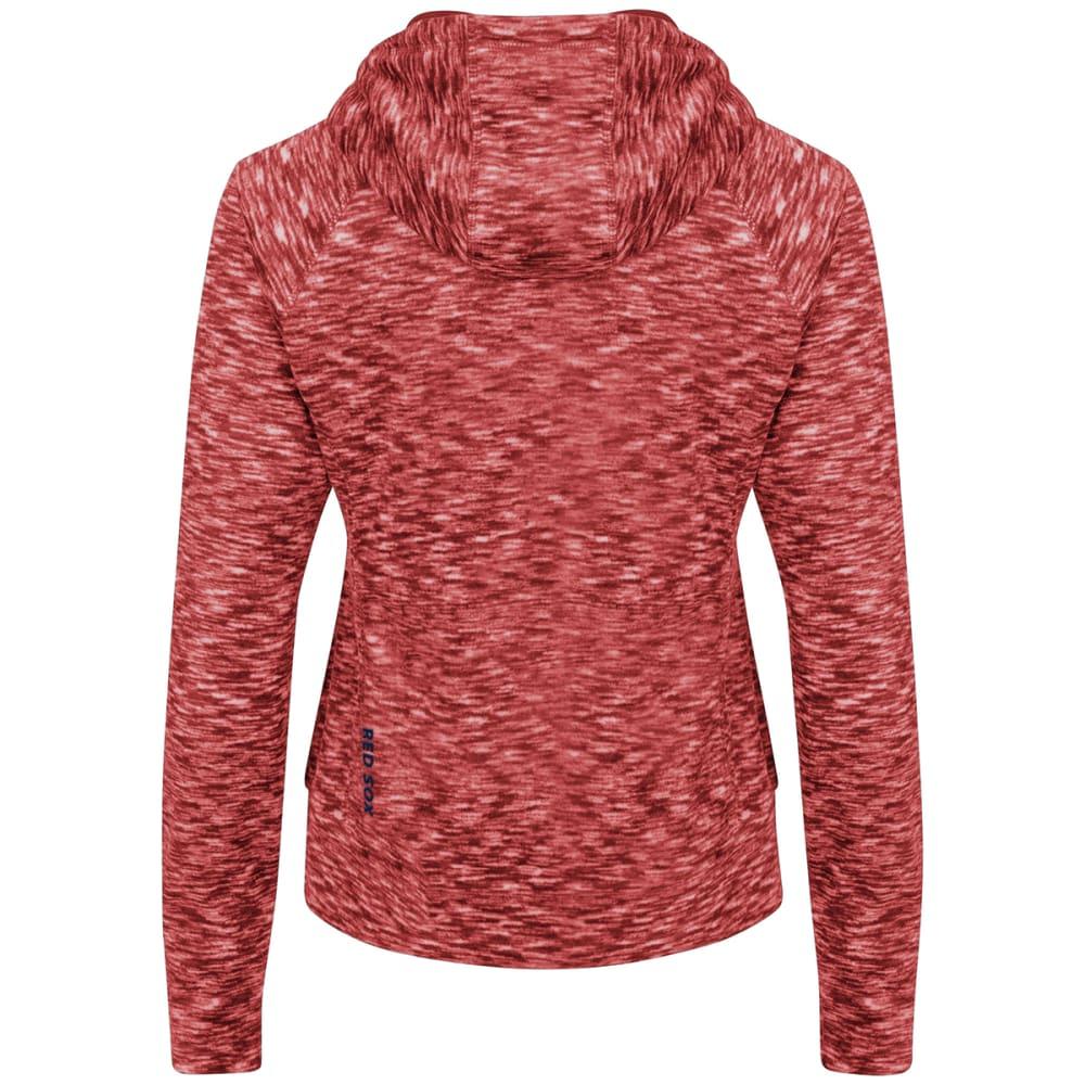 BOSTON RED SOX Women's Journey Full Zip Hooded Fleece - RED