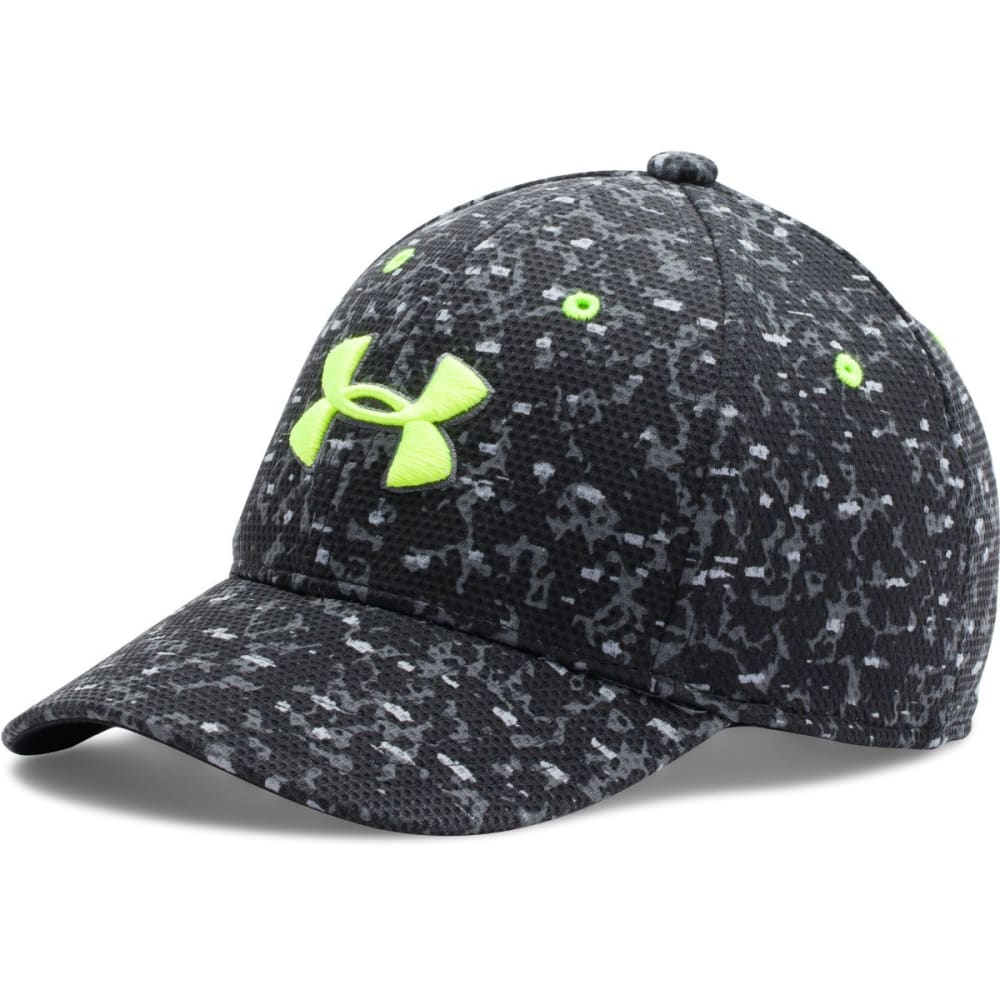UNDER ARMOUR Men's Printed Blitzing Cap - BLACK PRINT 001