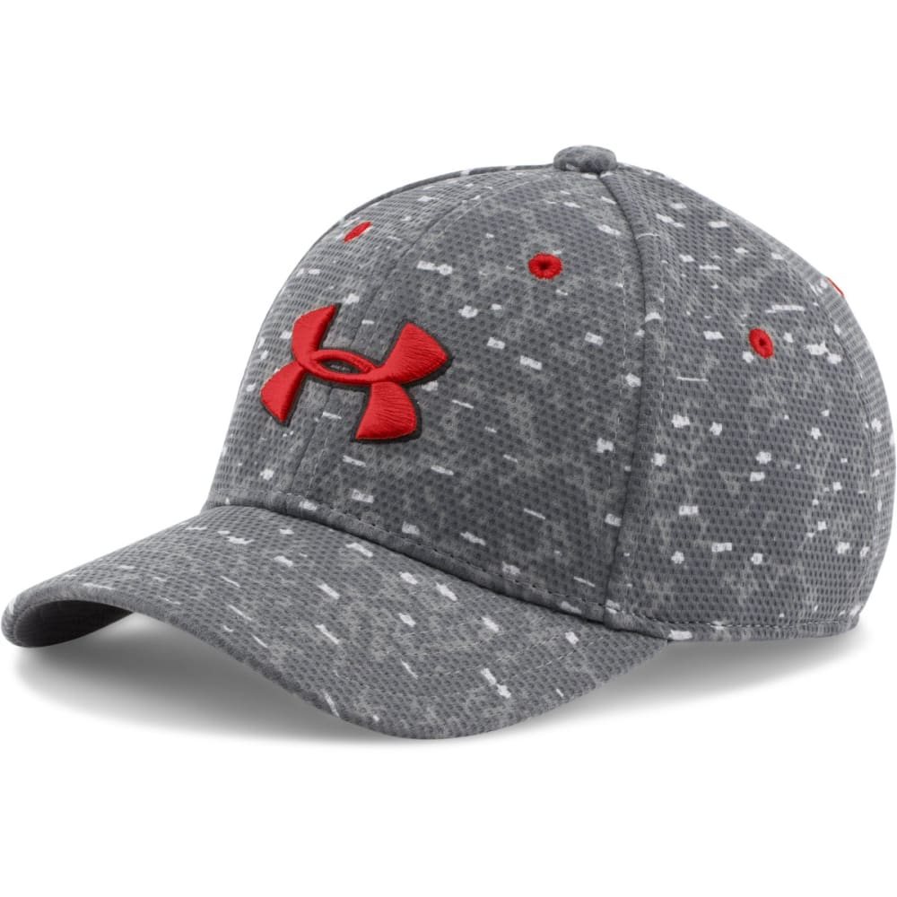 UNDER ARMOUR Men's Printed Blitzing Cap - GRAPHITE PRINT 042