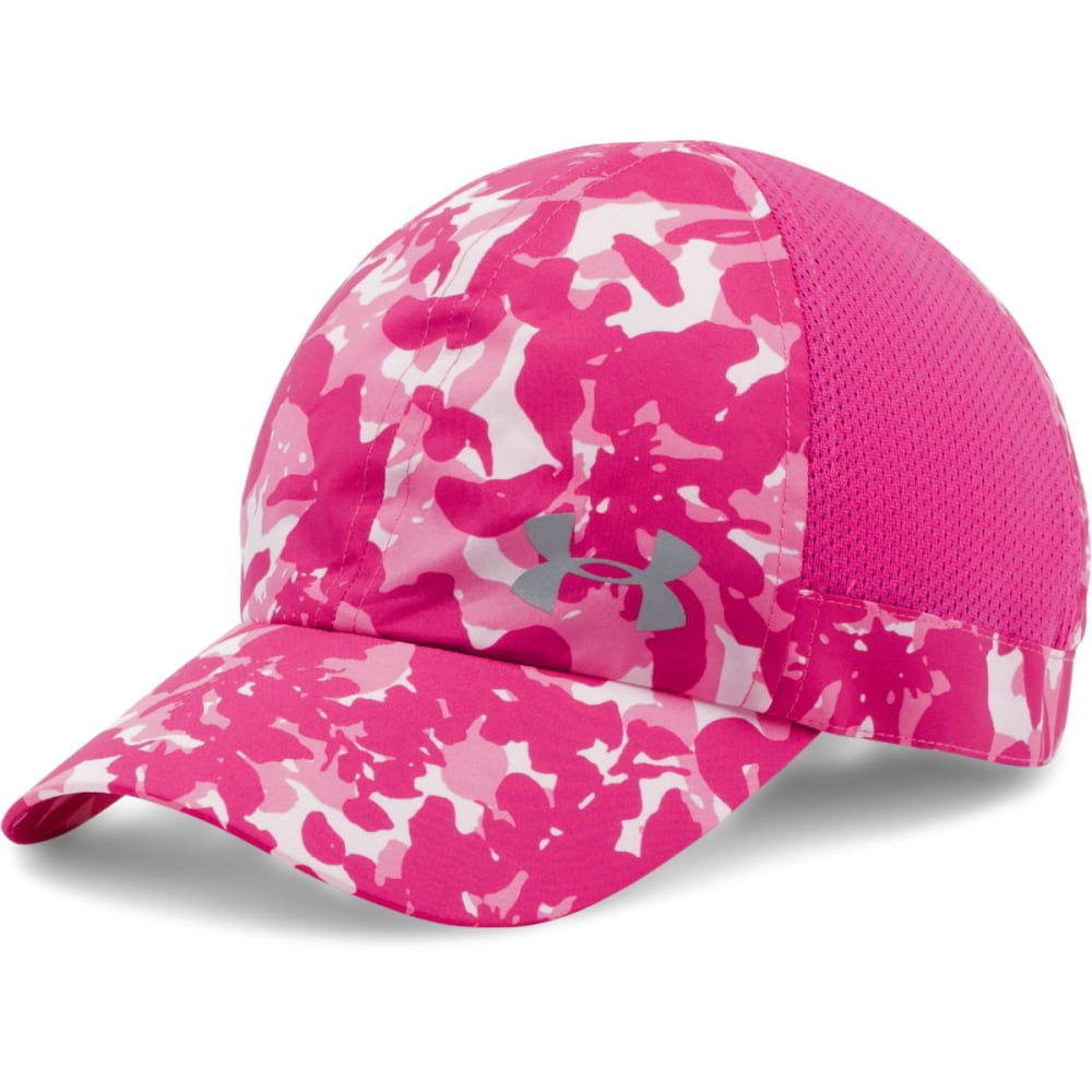 UNDER ARMOUR Women's Fly Fast Cap - TROPIC PINK 654