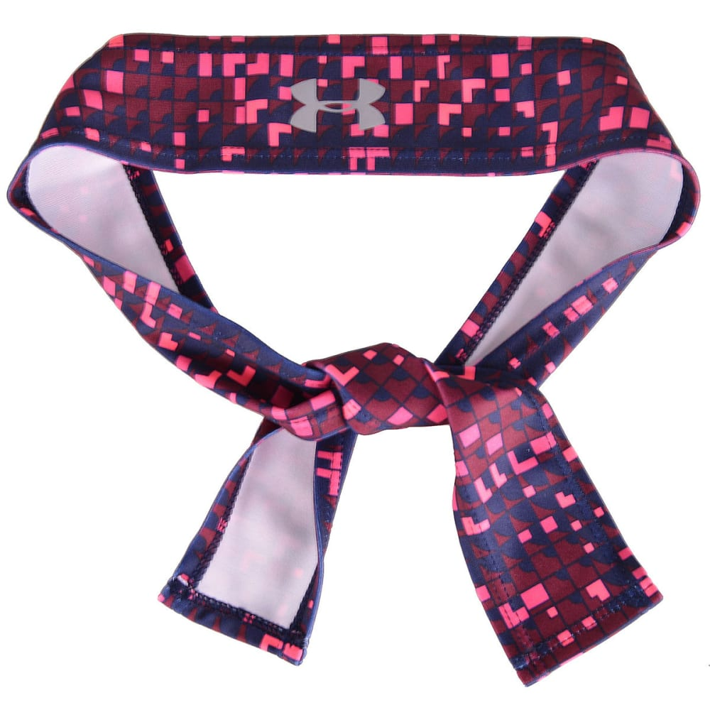 UNDER ARMOUR Women's Printed Armour Tie Headband ONE SIZE