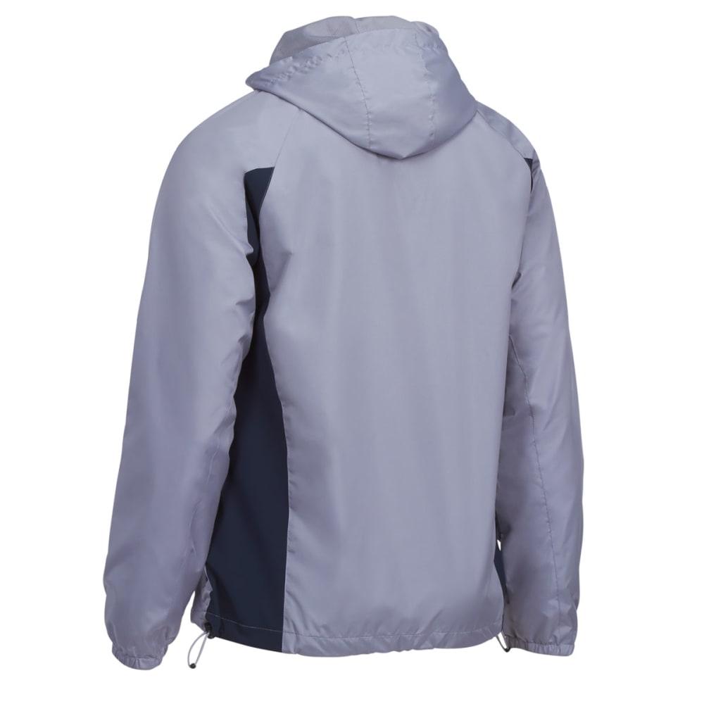 NEW BALANCE Men's Mini Ripstop Hooded Jacket - SILVER MINK-SV037