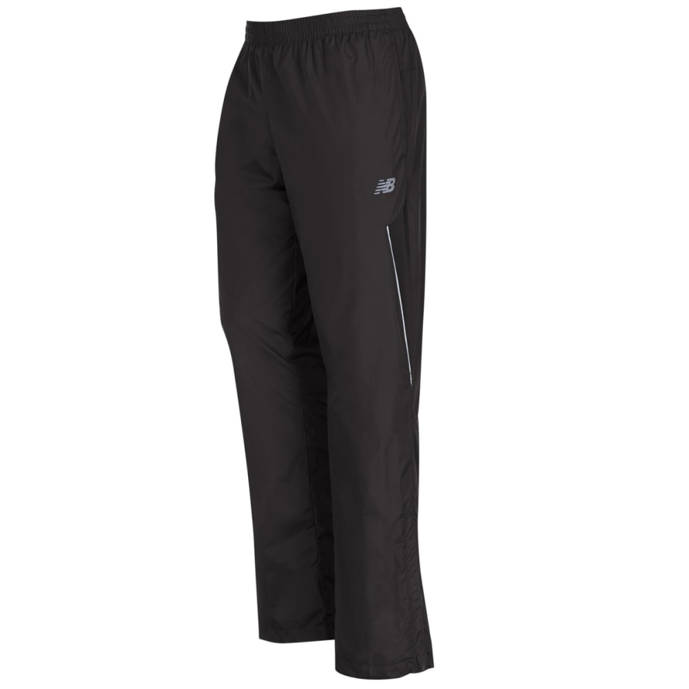 NEW BALANCE Men's Windpant with Mesh Trim - BLACK-BK001