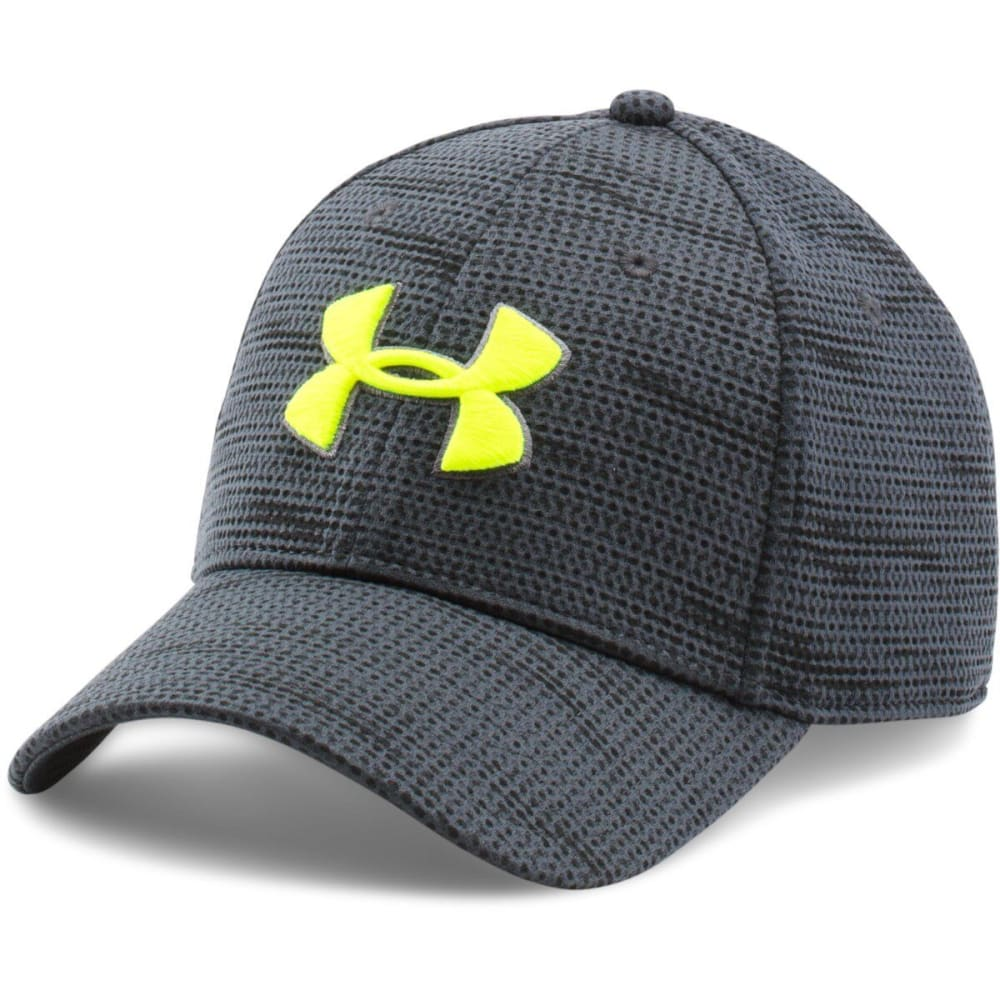 UNDER ARMOUR Men's Printed Blitzing Stretch Fit Cap - STEALTH GRY-008