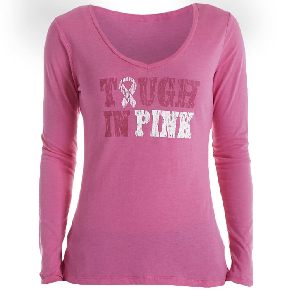 COLUMBIA Women's Tough In Pink Long Sleeve Tee - -695 PINK ICE