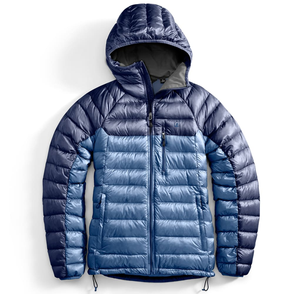 Ems(R) Men's Feather Pack Hooded Jacket - Blue, XXL