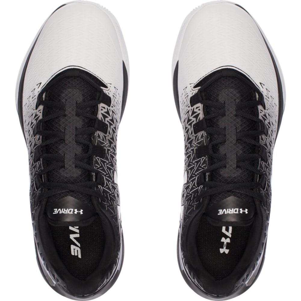 UNDER ARMOUR Men's ClutchFit Drive 3 Basketball Shoes - BLACK