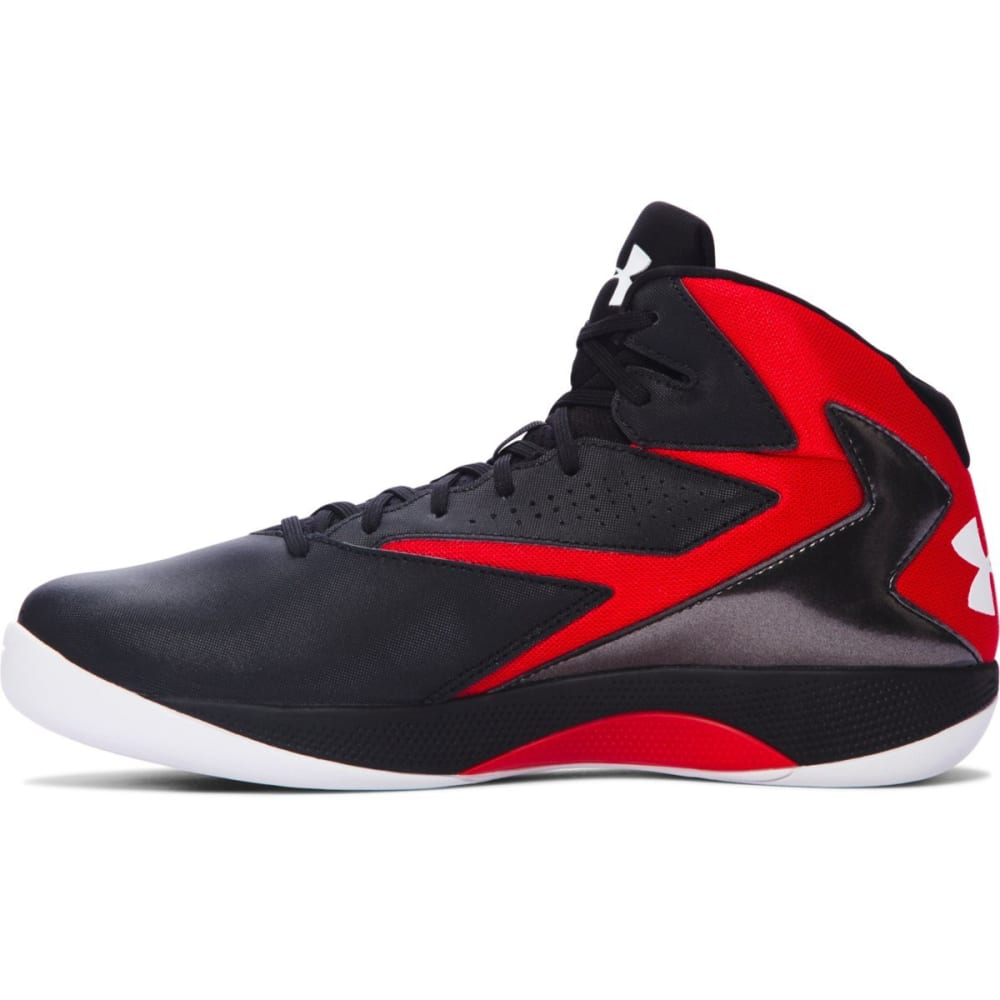 UNDER ARMOUR Men's Lockdown Basketball Shoes - BLACK