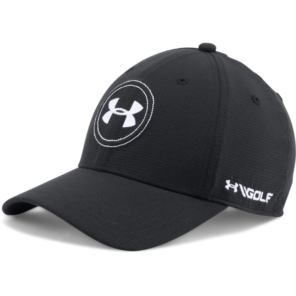UNDER ARMOUR Men's Jordan Spieth UA Tour Cap - BLACK/WHITE 001