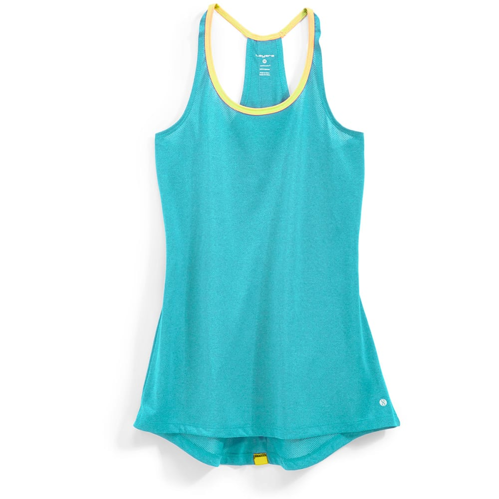 LAYER 8 Women's Singlet Tank - SEASIDE HTHR-SE3