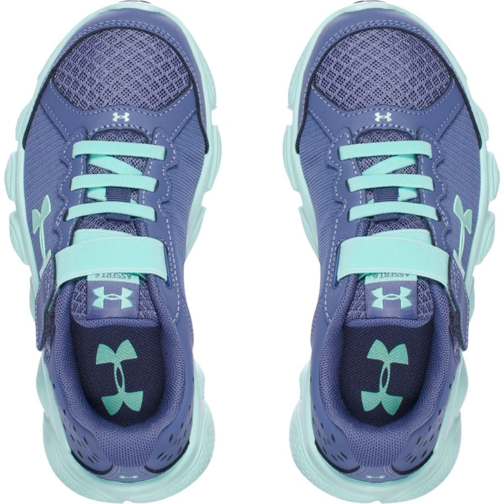 UNDER ARMOUR Girls' Pre-School UA Assert 6 AC Running Shoes - PURPLE