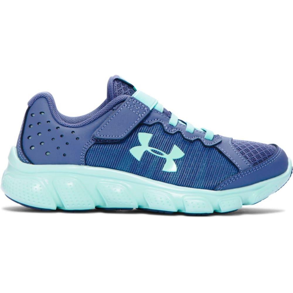 UNDER ARMOUR Girls' Pre-School UA Assert 6 AC Running Shoes - PURPLE