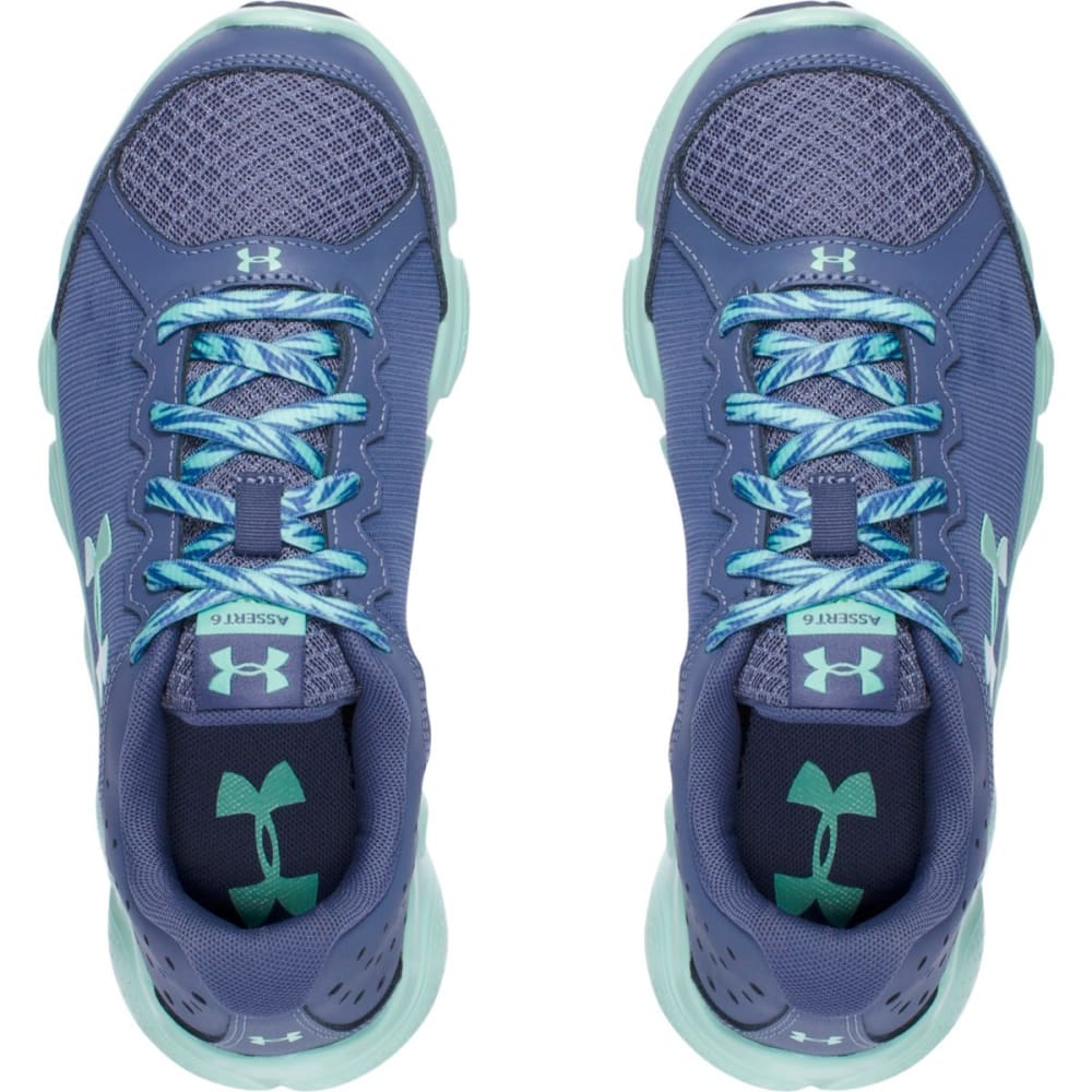 UNDER ARMOUR Girls' Grade School UA Assert 6 AC Running Shoes - PURPLE