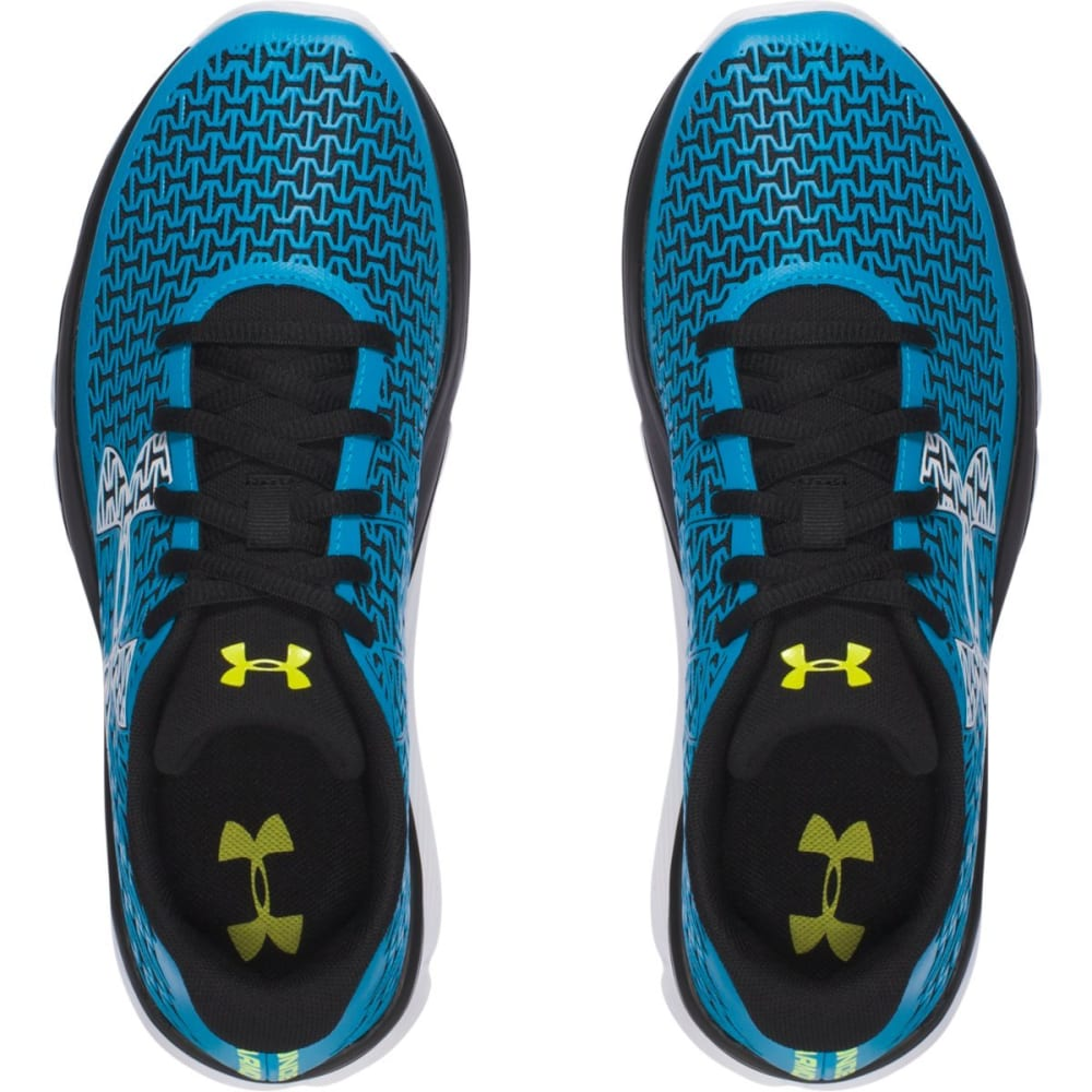 UNDER ARMOUR Boys' Grade School ClutchFit Rebelspeed Running Shoes - BLUE