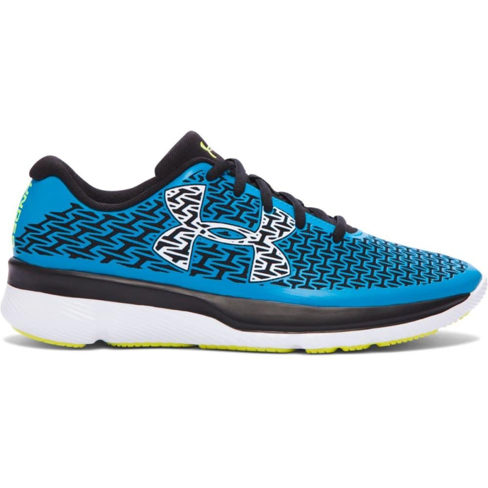 UNDER ARMOUR Boys' Grade School ClutchFit Rebelspeed Running Shoes - BLUE