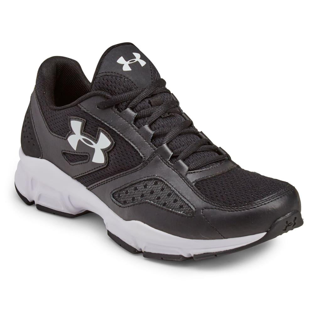 UNDER ARMOUR Men's Zone Training Shoes - BLACK