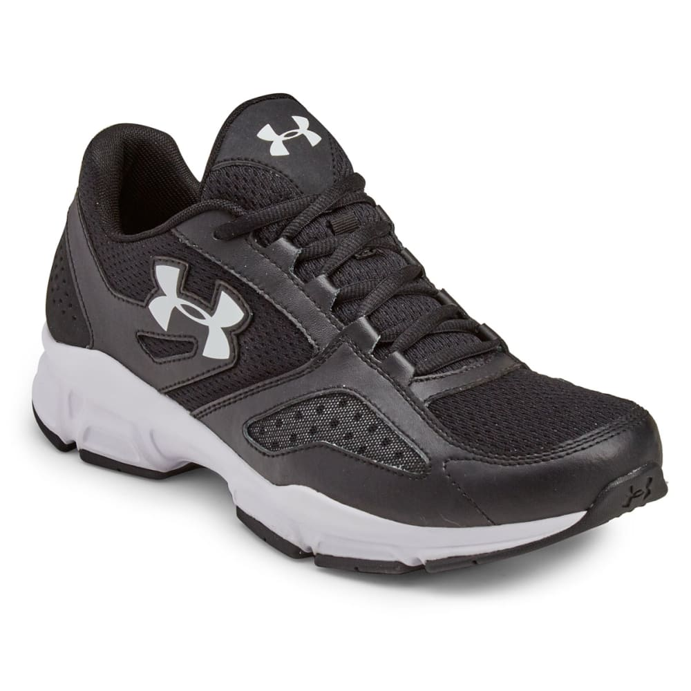 UNDER ARMOUR Men's Zone Training Shoes, Wide Width - BLACK