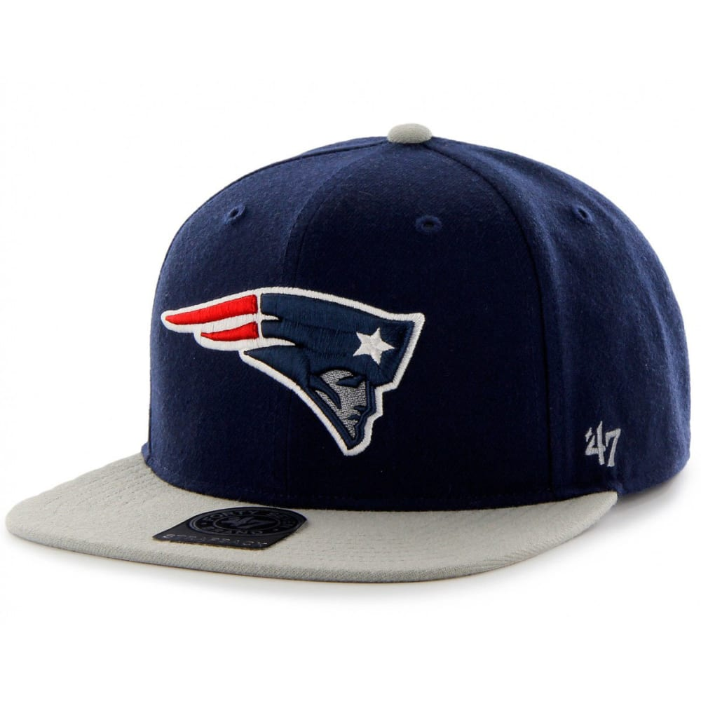 NEW ENGLAND PATRIOTS Men's Super Shot Snapback - NAVY
