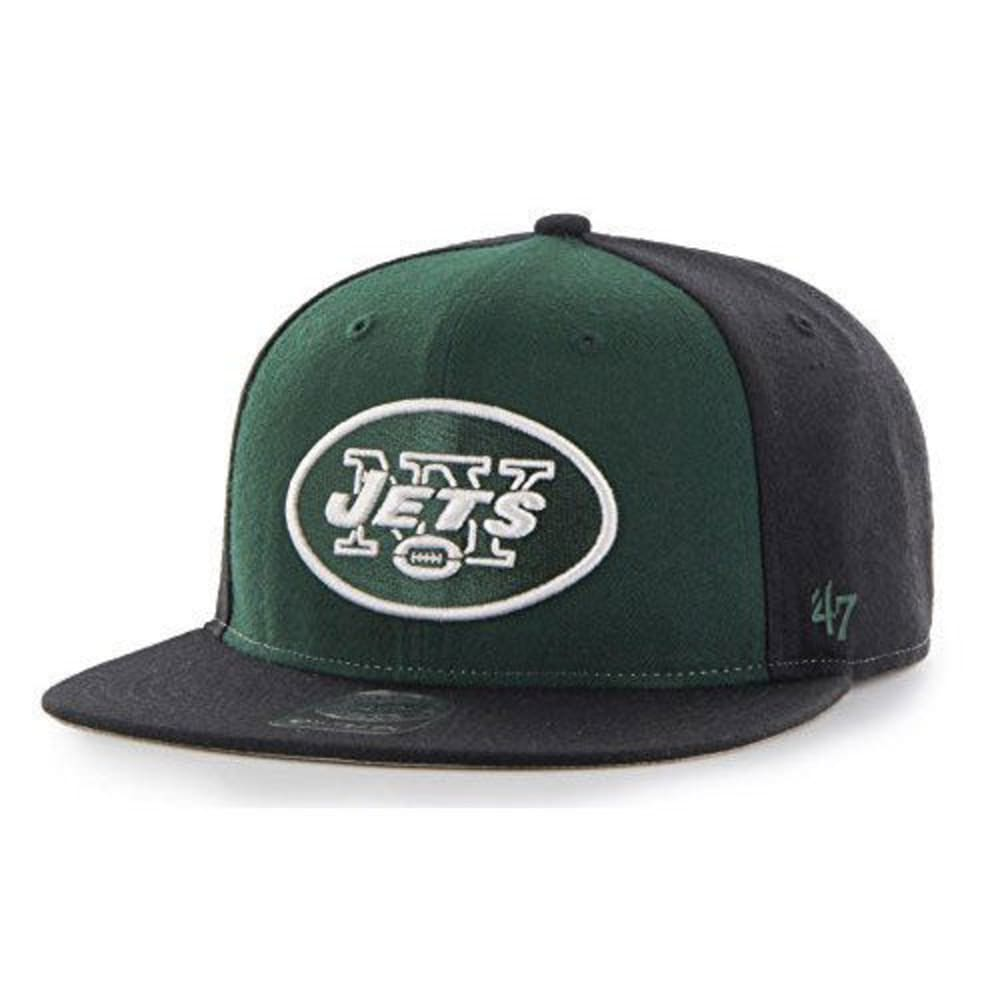 NEW YORK JETS Boys' Lil' Shot Two-Tone Snapback Cap - GREEN