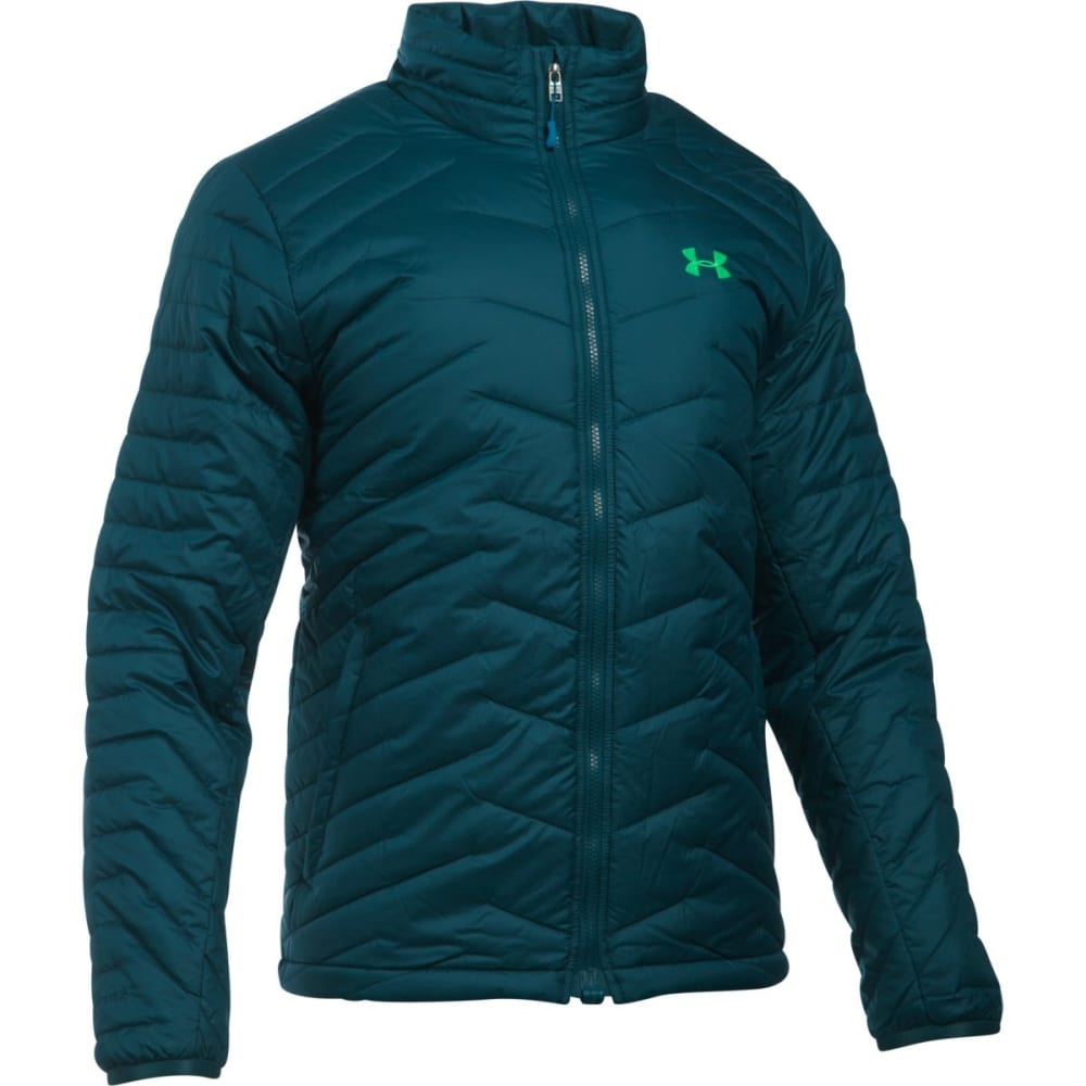 UNDER ARMOUR Men's ColdGear® Reactor Jacket - -861 TEAL/PEACOCK