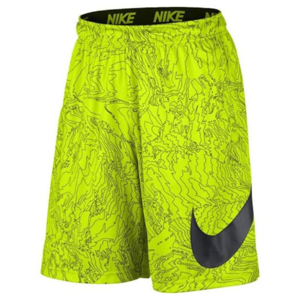 NIKE Men's 9 in. Dry Topo Print Training Shorts S