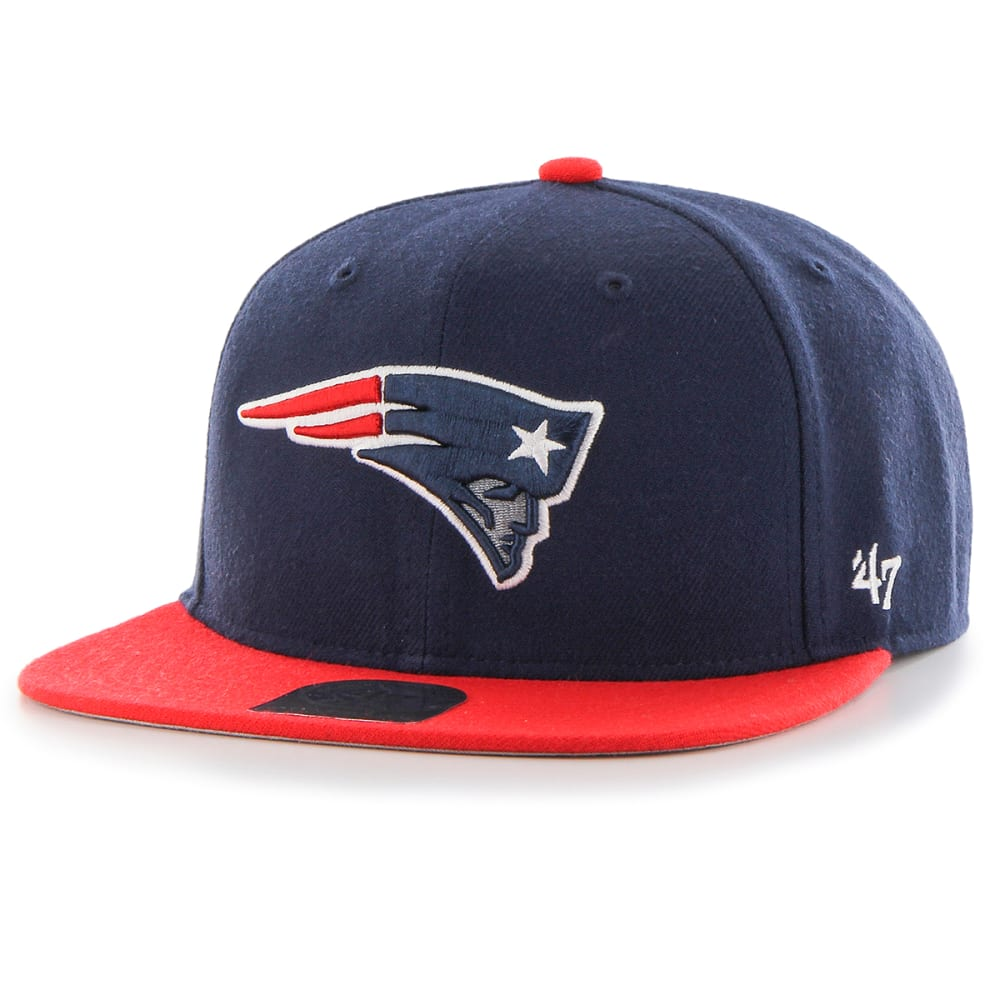 NEW ENGLAND PATRIOTS Youth Lil Shot Two-Tone Cap - NAVY