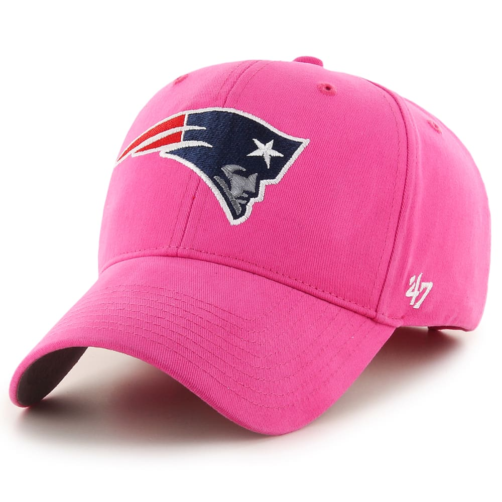 NEW ENGLAND PATRIOTS Girls' Basic Adjustable Hat - PINK