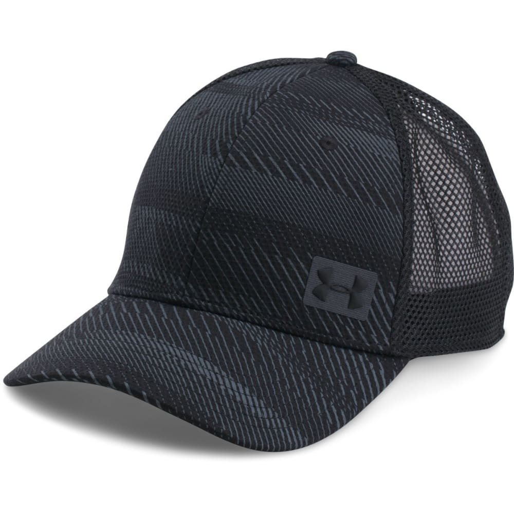 UNDER ARMOUR Men's Blitz Trucker Cap - 003-BLK/STEALTH/BLK