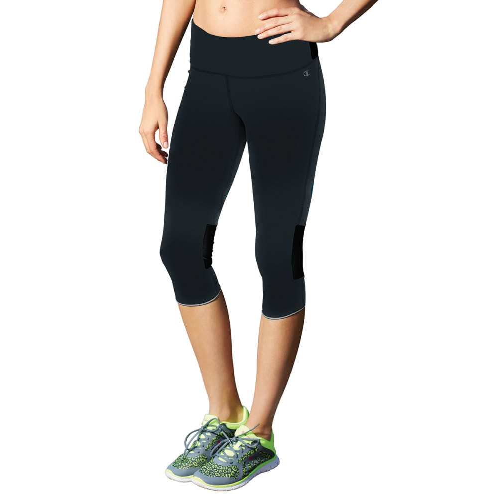 Champion Women's Marathon Knee Tights - Black, L