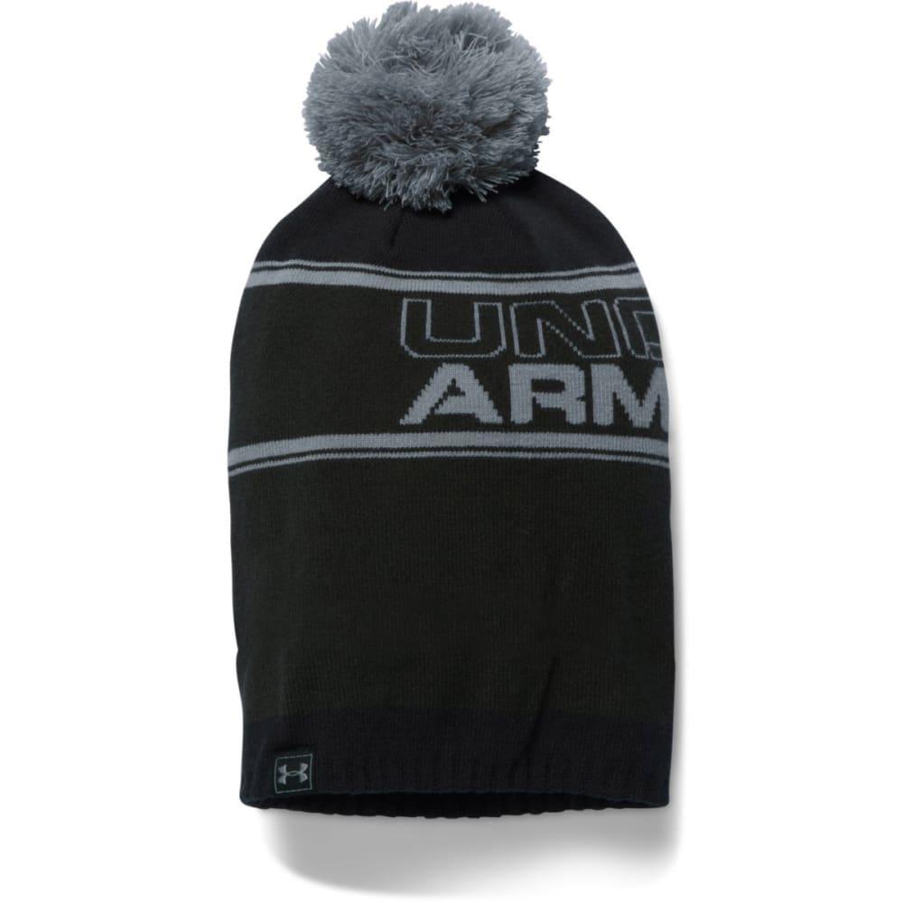 UNDER ARMOUR Men's Retro Pom Beanie - ARTILLERY 357