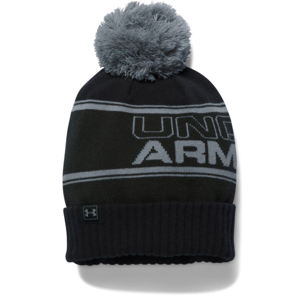 UNDER ARMOUR Men's Retro Pom Beanie - ARTILLERY 357