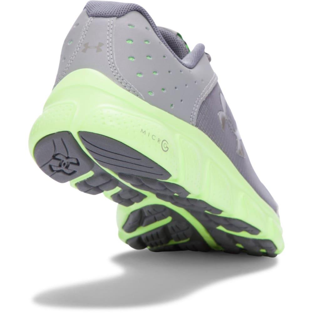 UNDER ARMOUR Boys' Grade School Micro G Assert 6 Shoes - GREY