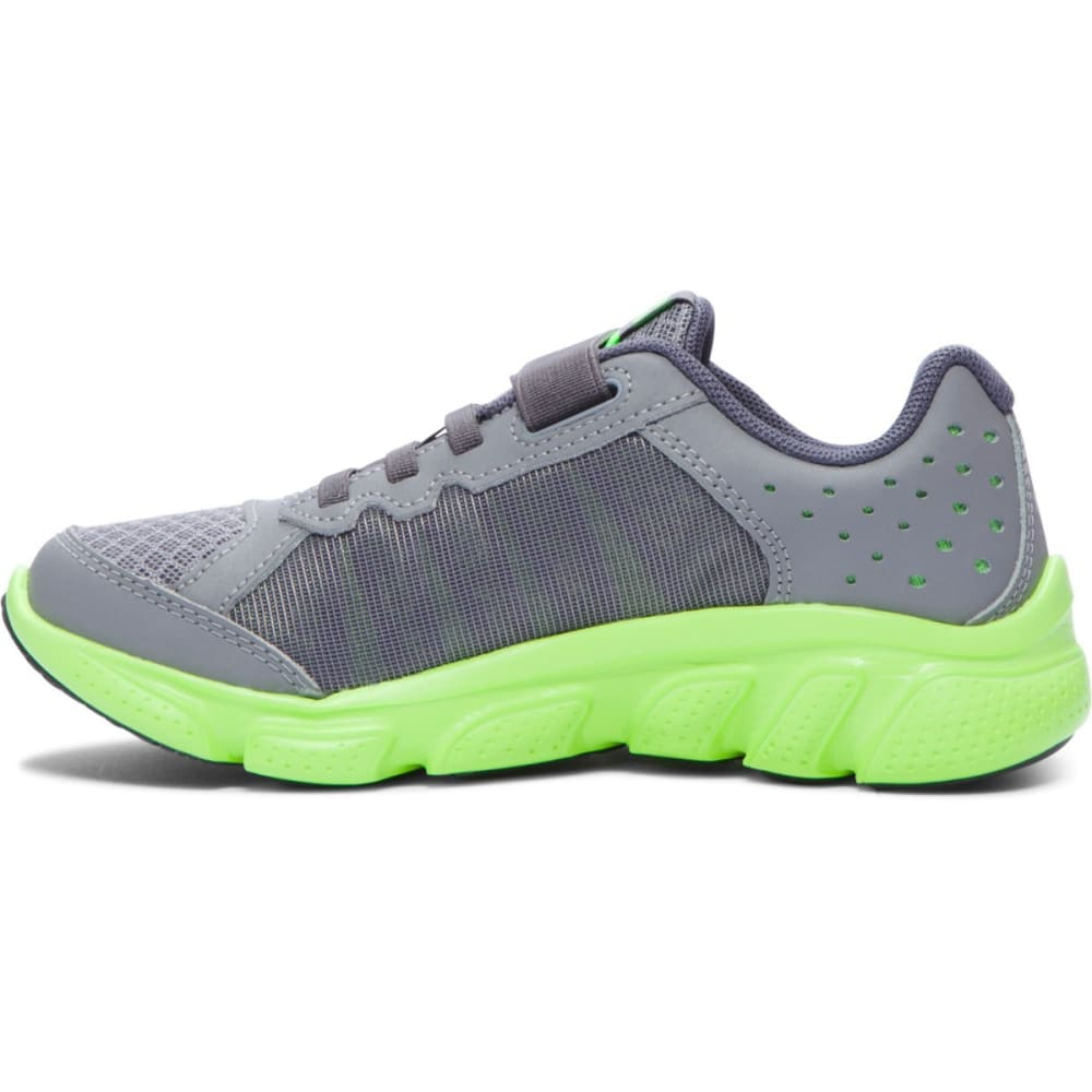UNDER ARMOUR Boys' Micro G Assert 6 Shoes - GREY
