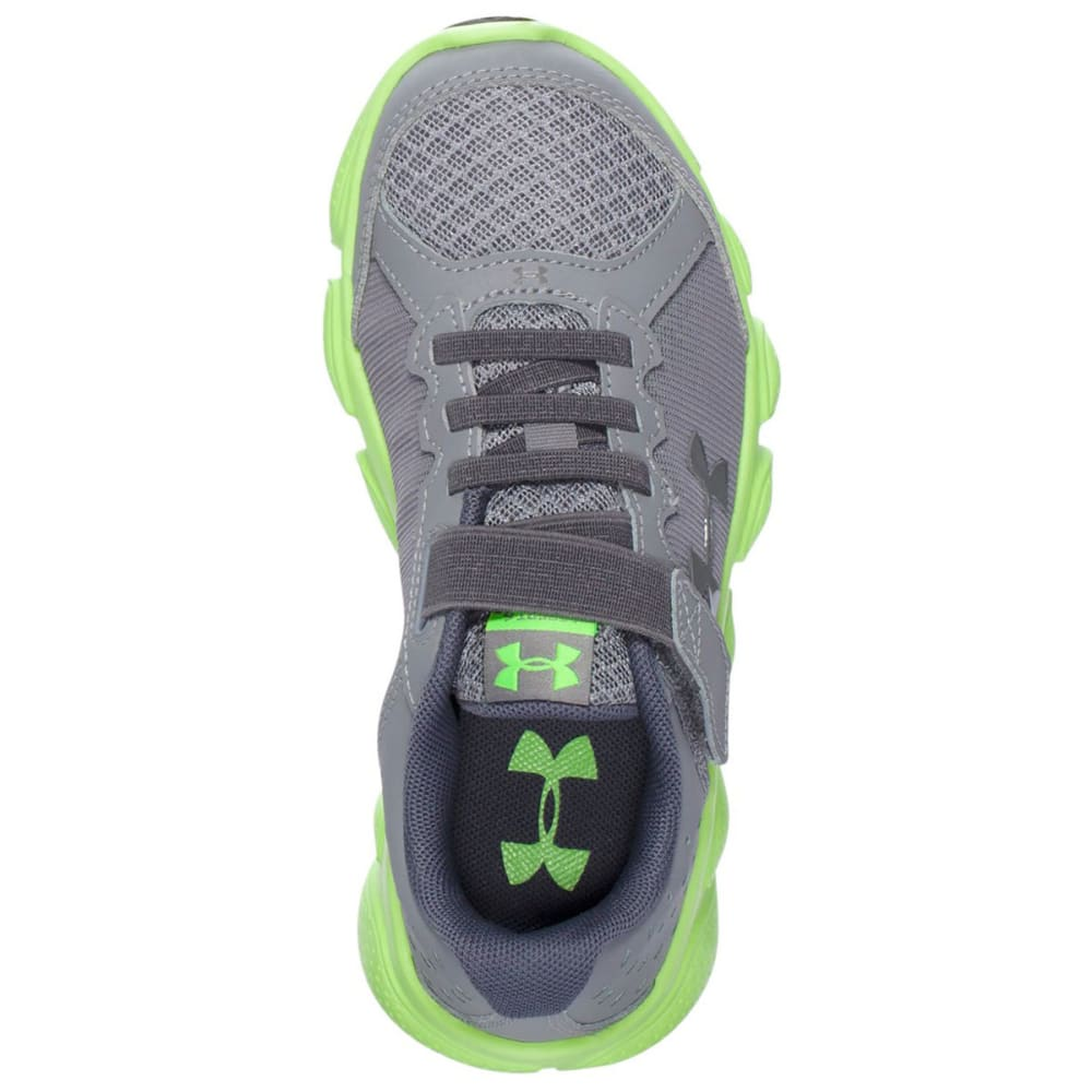 UNDER ARMOUR Boys' Micro G Assert 6 Shoes - GREY