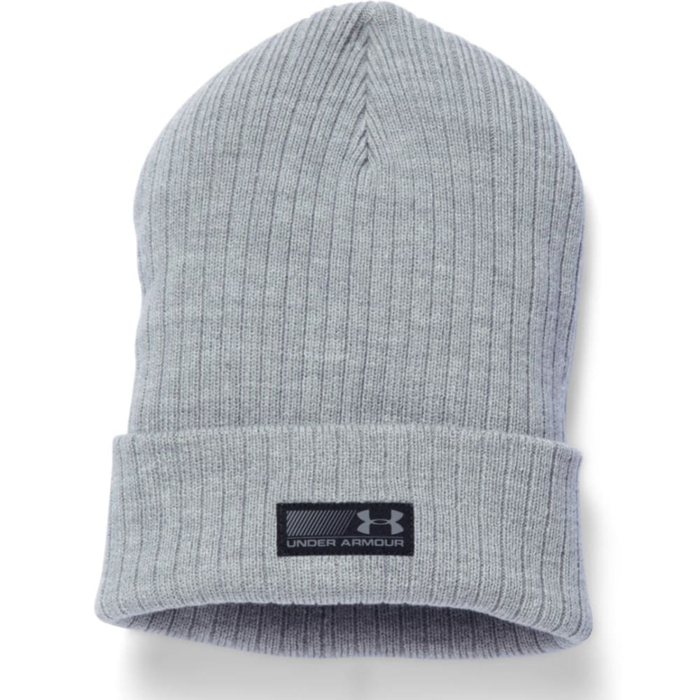 UNDER ARMOUR Men's Truck Stop Beanie - TRUE GREY 025
