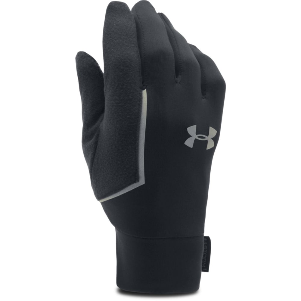UNDER ARMOUR Men's Core Run Liner Gloves - BLACK 001
