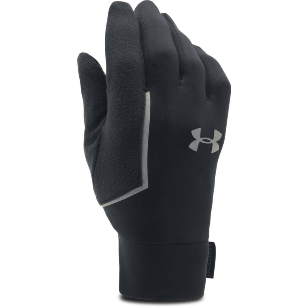 UNDER ARMOUR Men's Core Run Liner Gloves - BLACK 001