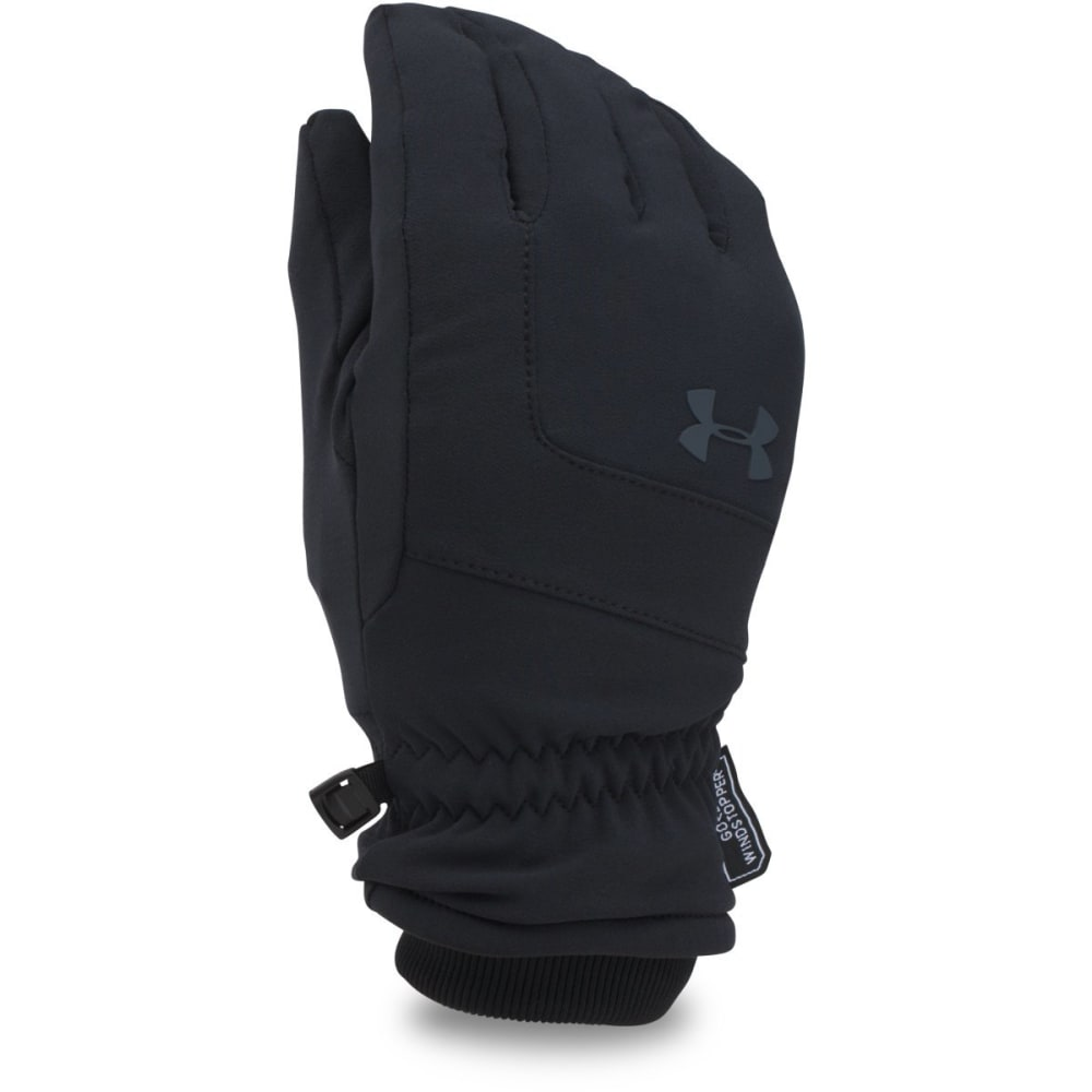 UNDER ARMOUR Men's Gore Windstopper Gloves - BLACK 001