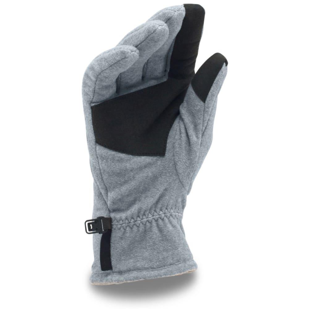 UNDER ARMOUR Men's Core Fleece Gloves - STEALTH GREY 035