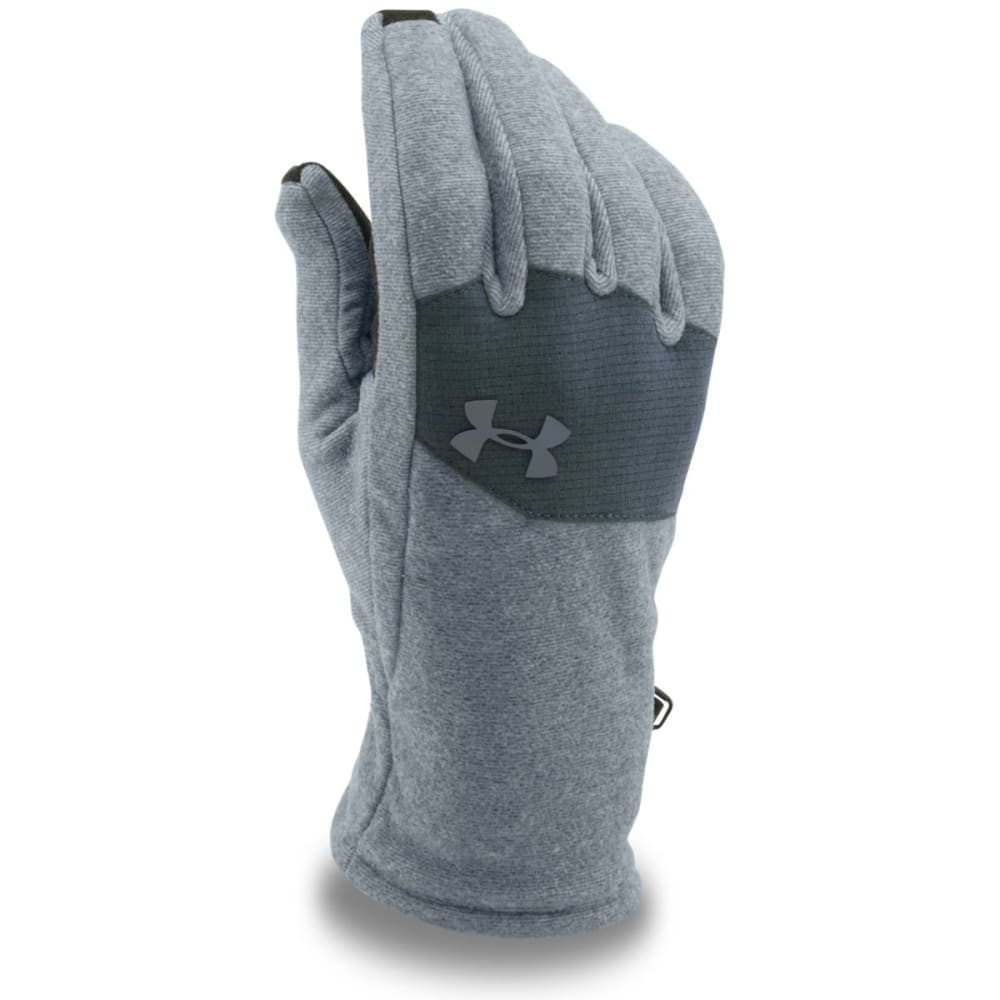 UNDER ARMOUR Men's Core Fleece Gloves - STEALTH GREY 035