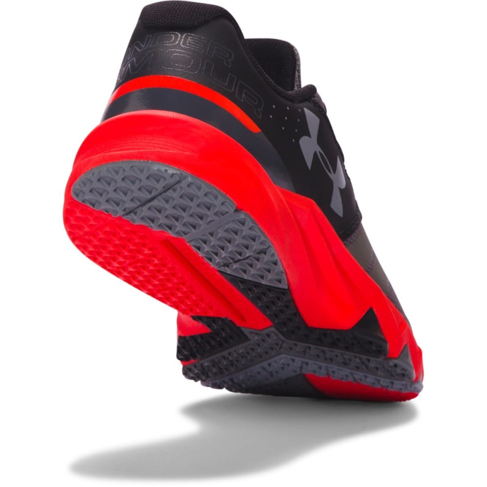 UNDER ARMOUR Boys' BGS Primed Running Shoes - GREY