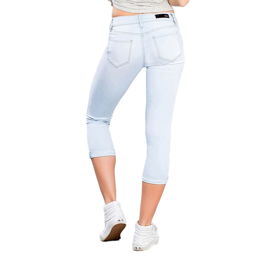 Y.M.I. Women's Luxe Flood Jeans - Q08 LIGHT