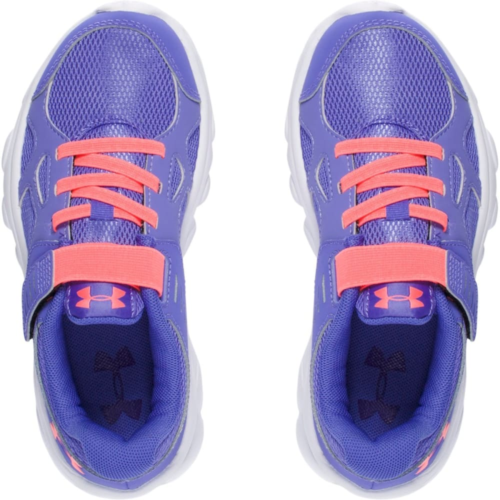 UNDER ARMOUR Girls' Pre-School UA Pace AC Running Shoes - PURPLE